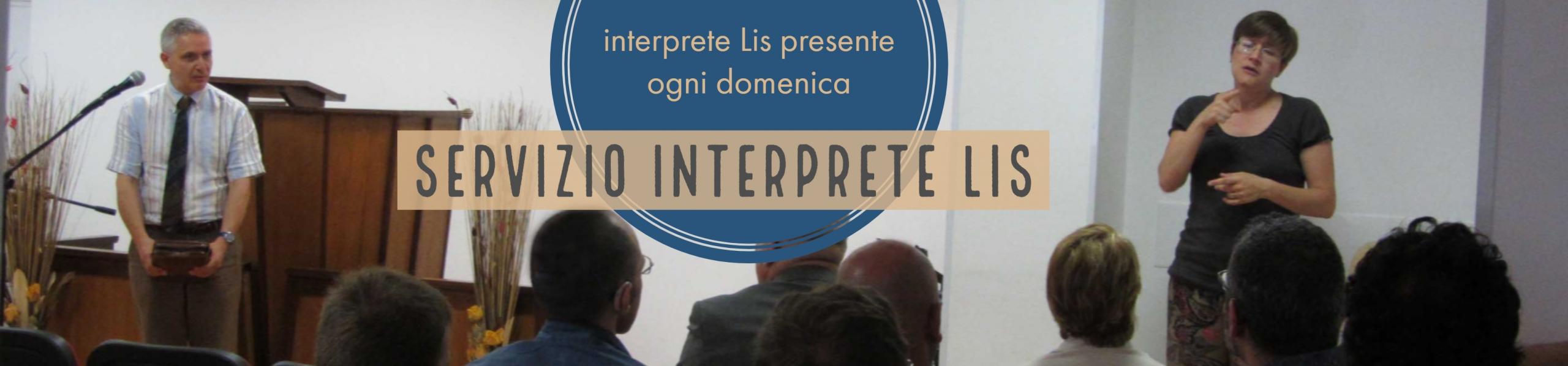 banner servizio interprete lis